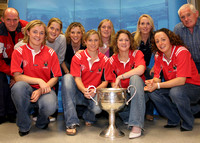 061013 All-Ireland Champions, Cork Ladies Footballers